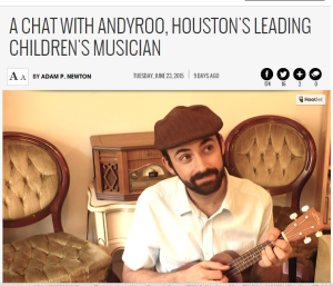 AndyRoo Houston PRess