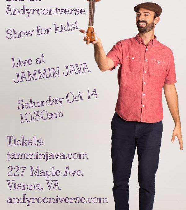 Andyrooniverse Kids Music Live at Jammin Java