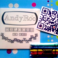 Welcome to the AndyRooniverse CD w/ Crayons and Platypus Sticker!